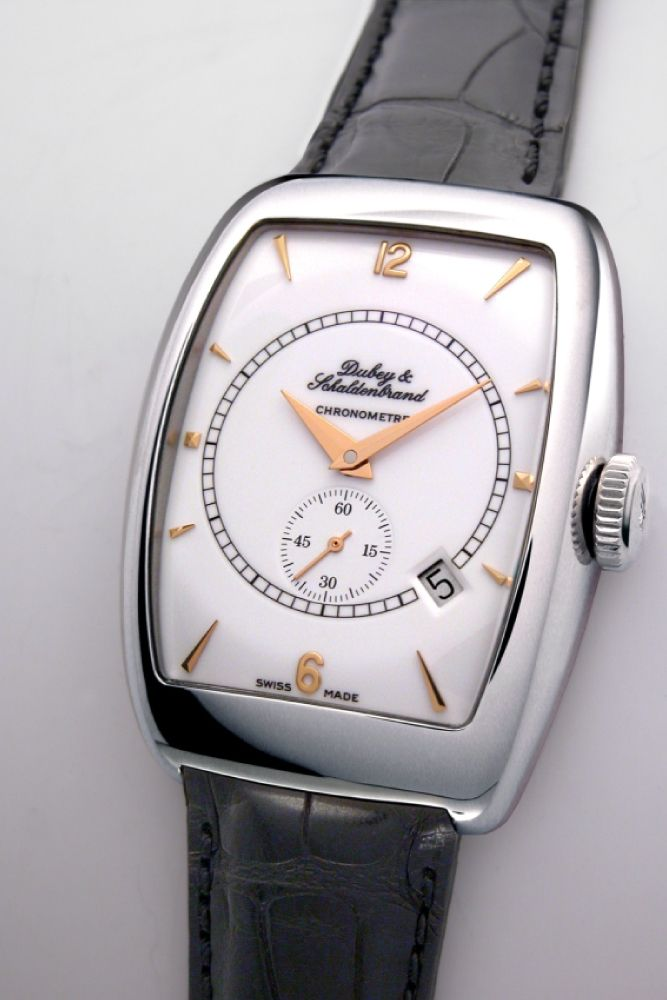 Aerochronometer white dial  with COSC - ACHRSTWHGLS
