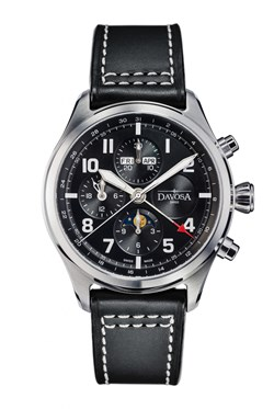 Newton Pilot Moonphase Chrongraph - 16158655
